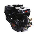 Двигатель бензиновый Weima WM190FЕ-S (HONDA GX420) (шпонка,вал 25 мм,бензин 16л.с., электростартер), фото 9