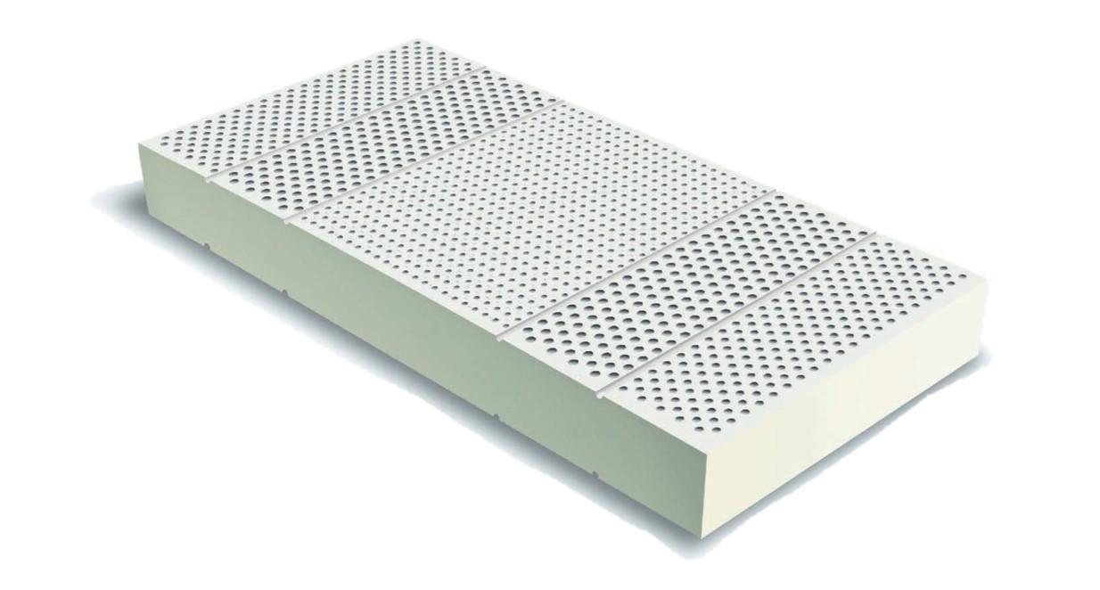 Латекс для матраса, латексный блок для матраса 160х200, высота 16 см., фото 1