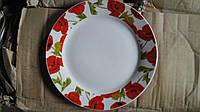 Тарелка обеденная из фарфора