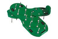 Аератор ножний для газону, сандалі// PALISAD