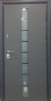 Грей-Гласс. Дверь входная уличная для коттеджа