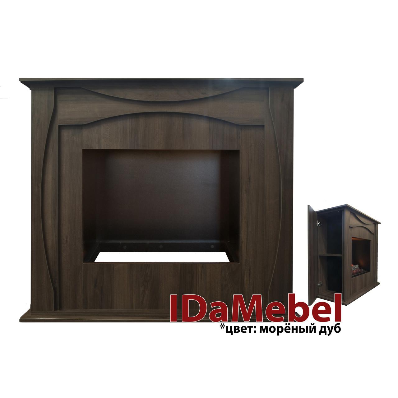 Камин портал для электрокамина DIMPLEX IDaMebel Denpasar (портал без очага индивидуальный заказ)