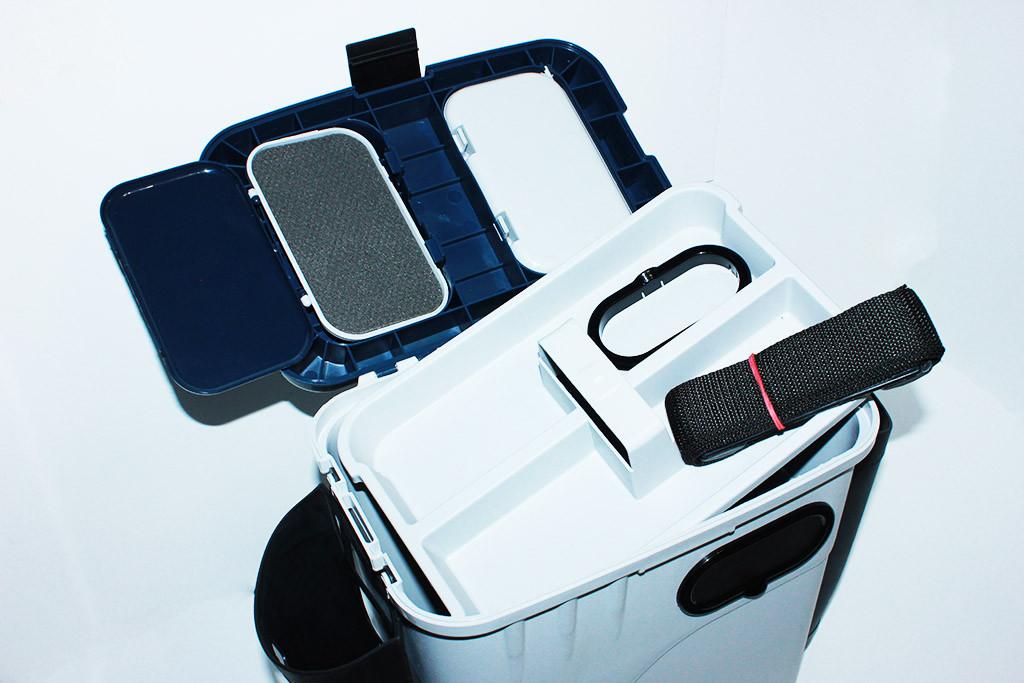 Ящик для зимней рыбалки Aquatech Оригинал(с боковыми карманами)