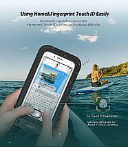 Защитный водонепроницаемый чехол Ugreen для телефона и документов (Черный), фото 3