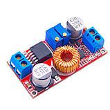 Регулируемый преобразователь напряжения и тока XL4005 XL4005E1 5A CC/CV/LED контроллер заряда акб, фото 5