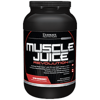 Гейнер Ultimate Muscle Juice Revolution 2600 (2,12 кг) Клубника, фото 1