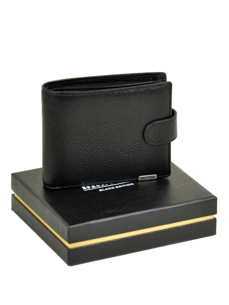 Кошелек CLASSIC. кожа BRETTON M3707 black