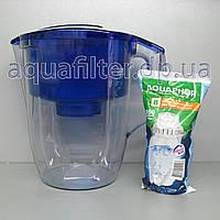 Фильтр-кувшин для воды АКВАФОР Океан Синий, фото 1