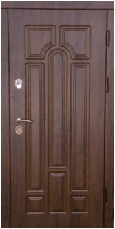 Арка Дуб бронзовый. Дверь входная уличная для коттеджа
