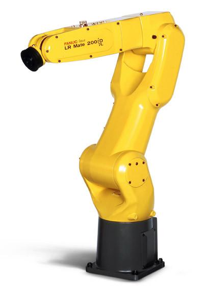 Промышленные роботы Fanuc LR Mate 200 iD/7L и 200iD/7LC