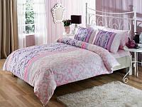 TAC Евро комплект постельного белья мако сатин Hazel lilac