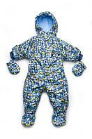 Верхняя одежда для новорожденных: зимние и демисезонные комбинезоны