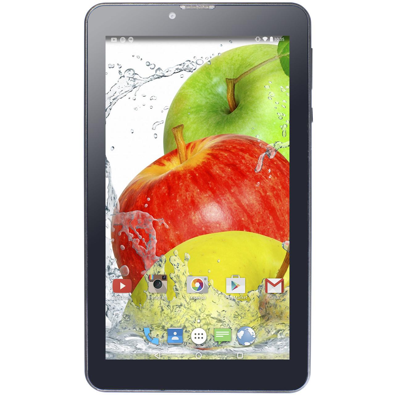"""ϞПланшет 7"""" Lenovo Call 1/16GB Black 4 ядра IPS экран GPS навигация Android 6 аккумулятор 3000mAh 2SIM"""