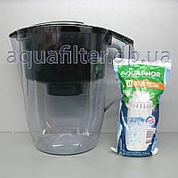 Фильтр-кувшин для воды АКВАФОР Океан Зеленый, фото 1