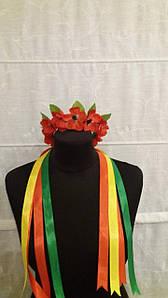 Венки для головы , маленькие , цветы