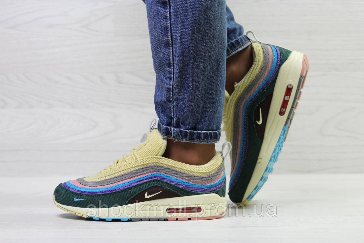17a0dc904eadea Яркие кроссовки Nike Air Max 1/97 Vf Sw женские Вьетнам реплика - Интернет  магазин