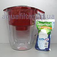 Фильтр-кувшин для воды АКВАФОР Океан Красный, фото 1