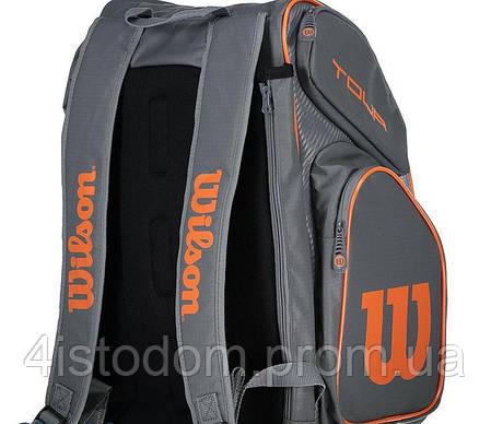 Рюкзак Wilson Tour V backpack large gy/or, фото 2
