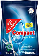 Порошок для посудомоечных машин Gut & Gunstig Сompact 1.8 кг