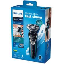 Электробритва Philips S5550/06 для влажного и сухого бритья (50минут автономной работы)