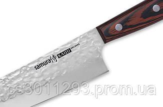 Набір з 3 кухонних ножів Кухарська трійка Samura KAIJU (SKJ-0220), фото 3