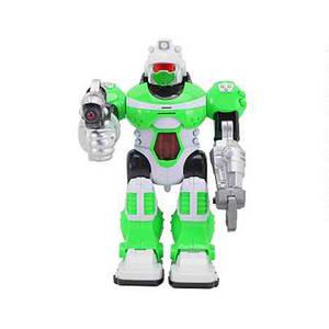 Робот T573-D5977/KD-8803B (24шт) 25см, зву(рус), свет, ходит, на бат-ке, в кор-ке,20-28-11,5см