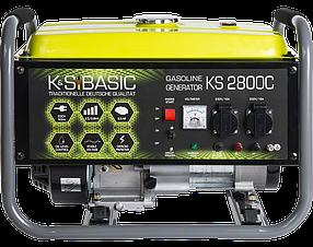 Генератор бензиновый K&S Basic KS 2800С (2,8кВт)
