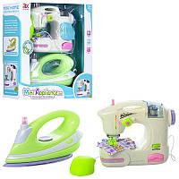 Игровой набор бытовой техники детский утюг и швейная машинка, 6998, 6981B