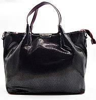 Превосходная женская сумочка бордового цвета (кожа) ВВВ-200809