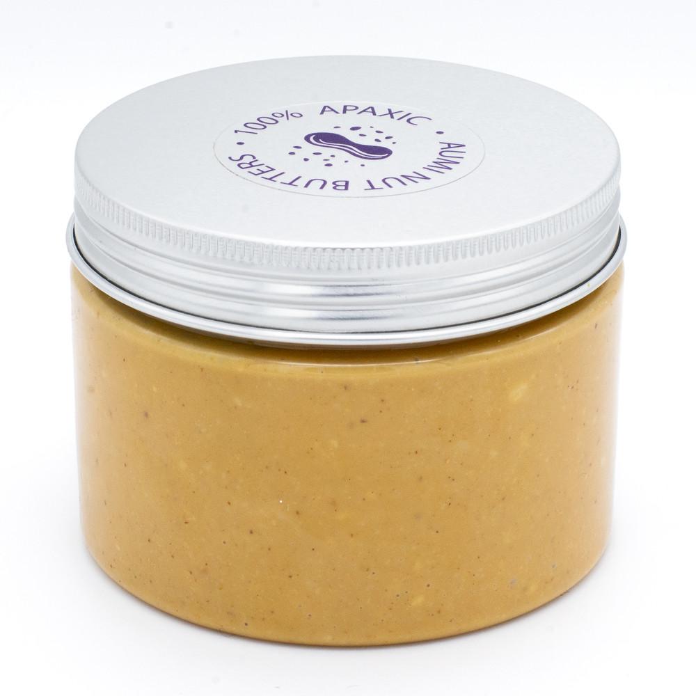 100% арахисовая паста с хрустящими кусочками Кранч 300г, уникальный рецепт, только арахис, без добавок