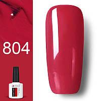 Гель лак GDCOCO 8мл. 804 -красно -розовый