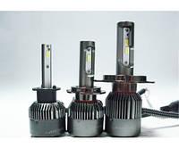 Светодиодная лампа дальнего и ближнего света Н4 Michi 5500K/ 5100-5400Lm