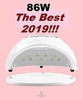 86 Вт !!! F6 UV LED лампа для гель-лаков и геля, для маникюра и педикюра 86W уф лед, фото 1