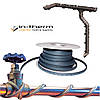 Саморегулирующийся кабель IN-THERM 10-40 Вт/м для наружного обогрева труб и водостоков