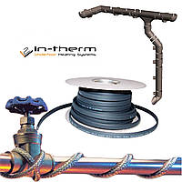 Саморегулирующийся кабель IN-THERM 10-40 Вт/м для наружного обогрева труб и водостоков, фото 1