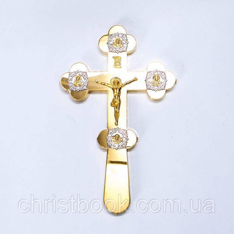 Хрест напрестольний (позолота)