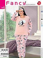 Піжама жіноча великого розміру панда