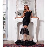 Длинное платье женское вечернее 8063-3