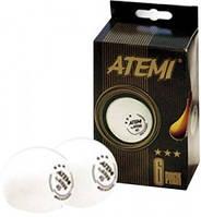 Atemi 1* м'ячики для настільного тенісу 6 шт