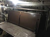 Люк напольный под плитку с наливной крышкой