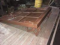 Люк напольный под плитку облегчённый или с наливной крыш