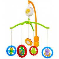 Мобиль пластиковый Зверушки с зеркальцем Canpol babies (2-170)