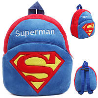Детский рюкзак Супермен Дисней. Детские рюкзаки в садик. Коллекция Дисней