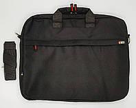 """Сумка для ноутбука 15.6"""" Forsa черная с листочкой FS16P1510B"""