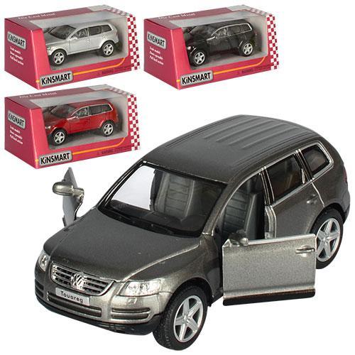 """Машинка металлическая Kinsmart """"Volkswagen Touareg"""", в подарочной коробке"""