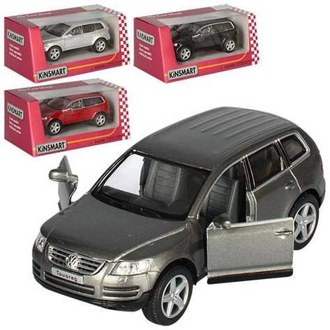 """Машинка металлическая Kinsmart """"Volkswagen Touareg"""", в подарочной коробке, фото 2"""