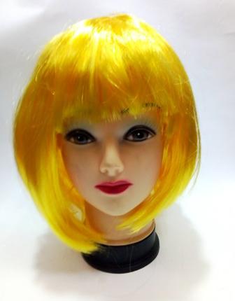 Парик с желтыми волосами