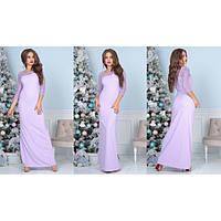 Вечернее женское платье в пол Вероника 4018