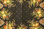 """Платок шерстяной с шерстяной бахромой """"Летние сумерки"""", 125х125 см. рис. 1219-19, фото 5"""