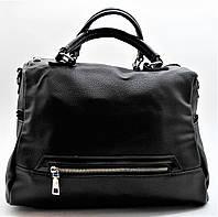 Удивительная женская сумочка экокожа черного цвета ВВВ-200499, фото 1